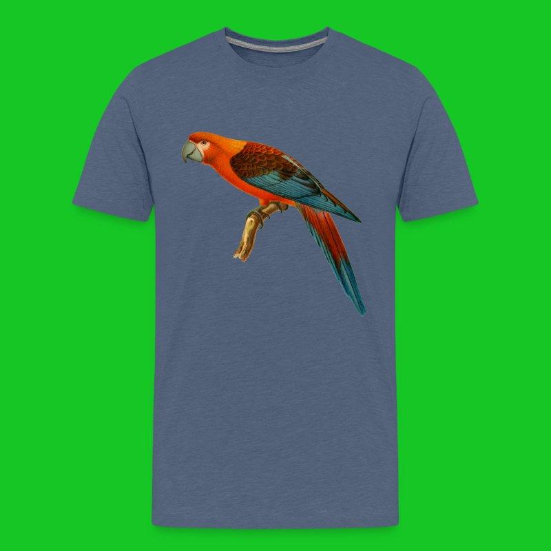 Papagaai teenager t-shirt - Teenager Premium T-shirt