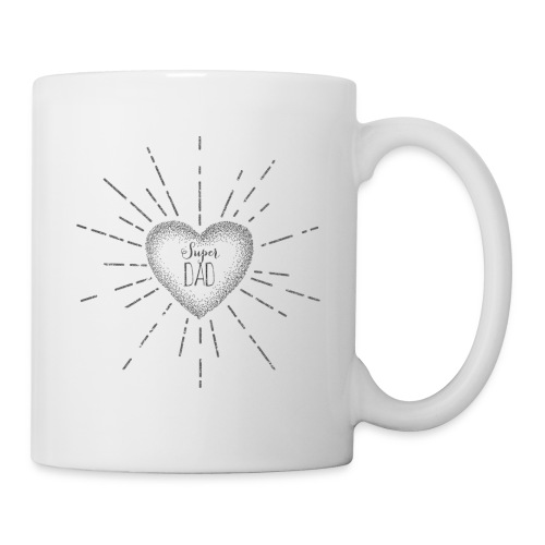 tasse Super Dad - Mug blanc