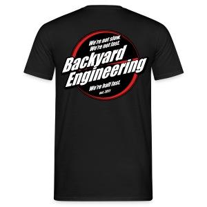 Backyard promo T-shirt - Men's T-Shirt