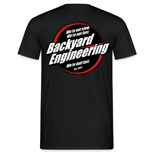 Backyard promo T-shirt - Men's T-Shirt