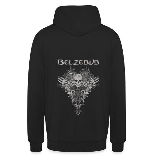 Belzebub Skull Devil Hoodie - Unisex Hoodie