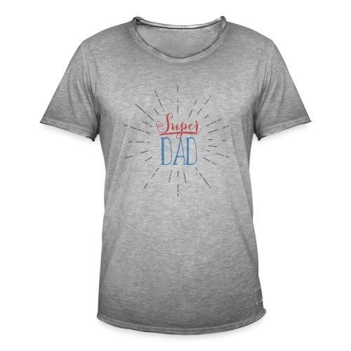 super dad // shirt Men - T-shirt vintage Homme