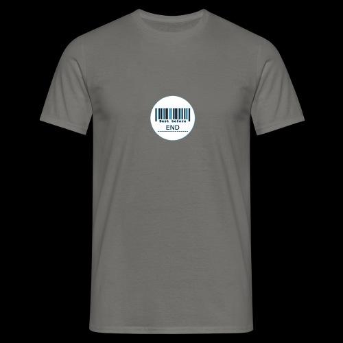 Best before - Männer T-Shirt