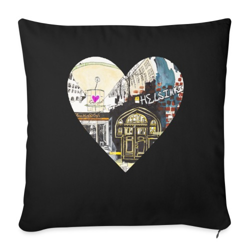Helsinki  - Sofa pillow cover 44 x 44 cm