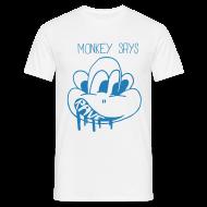 T-Shirts ~ Men's T-Shirt ~ Drugged Monkey say Rave