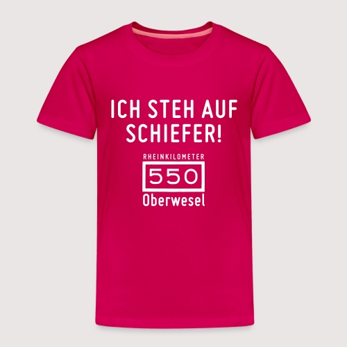 Kinder-T-Shirt Ich steh auf Schiefer - Kinder Premium T-Shirt