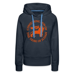 CONQUERING ORANGE - Sweat-shirt à capuche Premium pour femmes