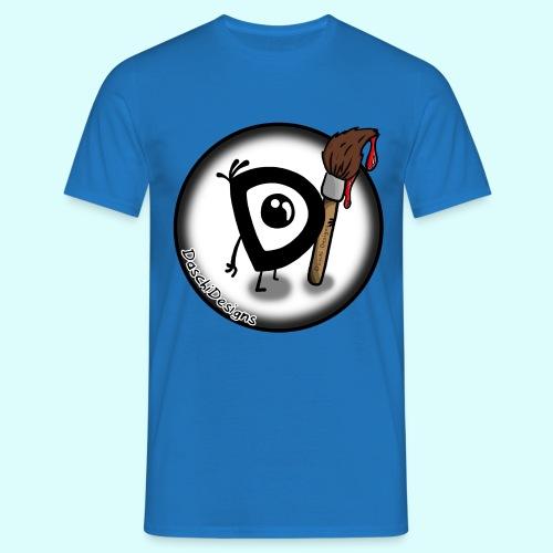 DaschiDesigns Fan-T-Shirt für Männer - Männer T-Shirt