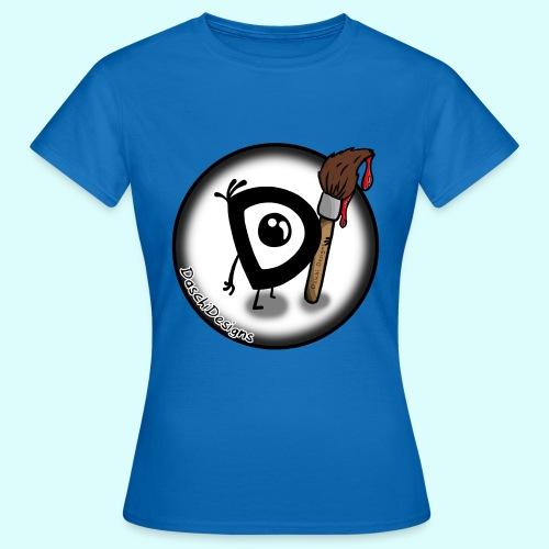 DaschiDesigns Fan-T-Shirt für Frauen - Frauen T-Shirt
