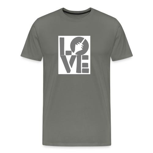 love dus - Männer Premium T-Shirt