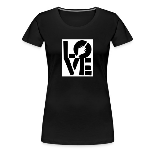 love dus - Frauen Premium T-Shirt