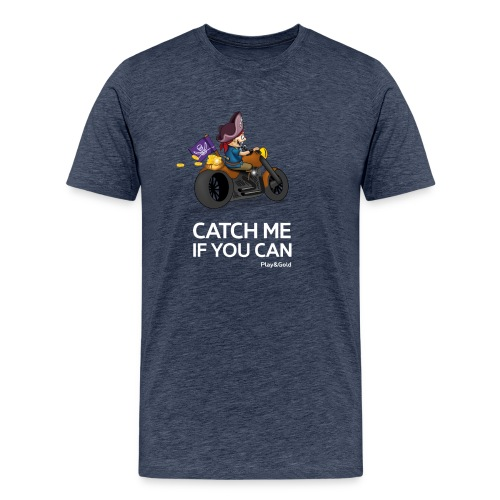 Catch me if you can - Man - T-shirt Premium Homme
