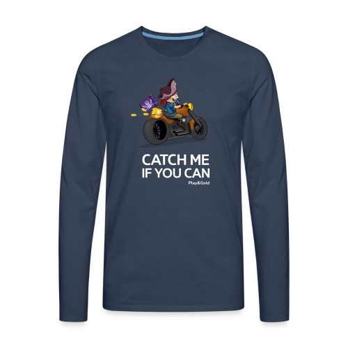 Catch me if you can - Man - T-shirt manches longues Premium Homme