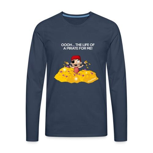 Gold swim - Man - T-shirt manches longues Premium Homme