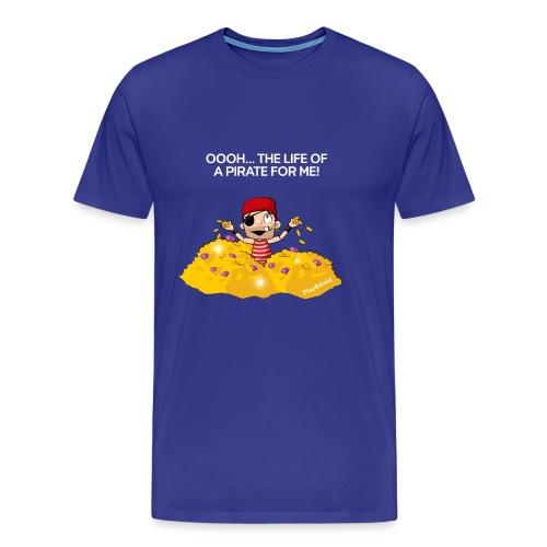Gold swim - Man - T-shirt Premium Homme