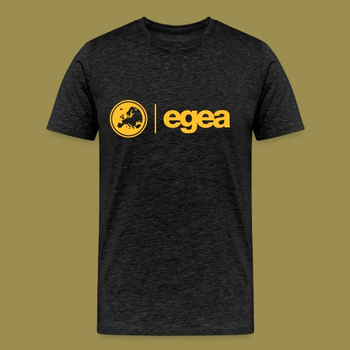 T-Shirt EGEA Logo - MEN charcoal - Men's Premium T-Shirt