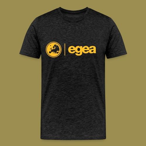 T-Shirt EGEA Logo - MEN charcoal - Men's Premium T-Shirt