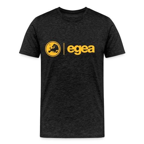 T-Shirt with EGEA Logo - MEN - Men's Premium T-Shirt
