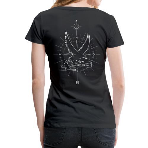 T-Shirt Damen - Höchberger Krähen - Frauen Premium T-Shirt