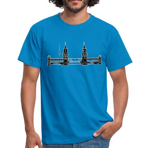 Oberbaumbrücke in Berlin 2 - Männer T-Shirt