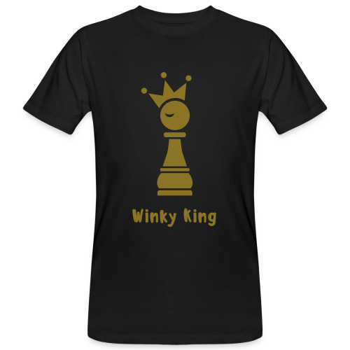 Winky Chess King Shirt - Mannen Bio-T-shirt