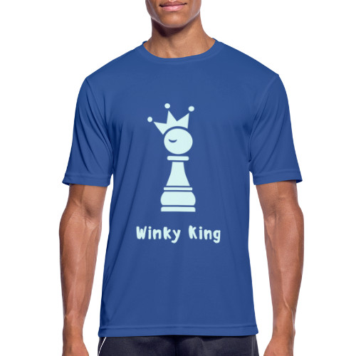 Winky Chess King Shirt - mannen T-shirt ademend
