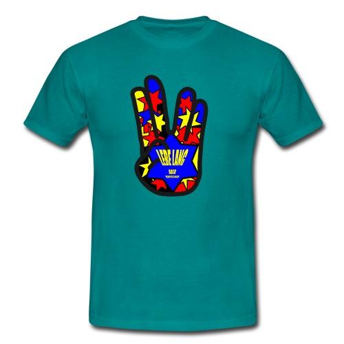 Lebe lang aber verpiss dich - Männer T-Shirt