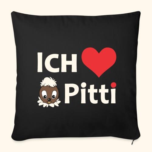 Sofakissenbezug Ich liebe Pitti  - Sofakissenbezug 44 x 44 cm