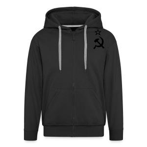 classic hood - Men's Premium Hooded Jacket