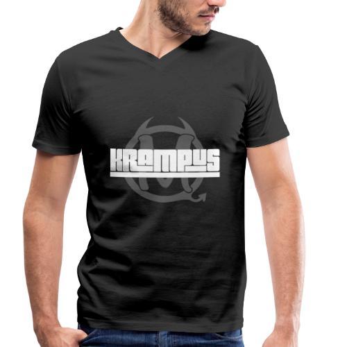 T-Shirt Hook - Männer Bio-T-Shirt mit V-Ausschnitt von Stanley & Stella