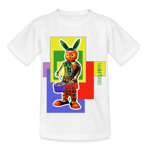 SMARTKIDS SLAMMIN' RABBIT - front print - 134/164 kids - multi color - Teenage T-Shirt