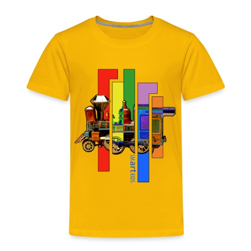 SMARTKIDS COCO LOCOMOFO - front print - 98/140 kids - multi colors - Kids' Premium T-Shirt
