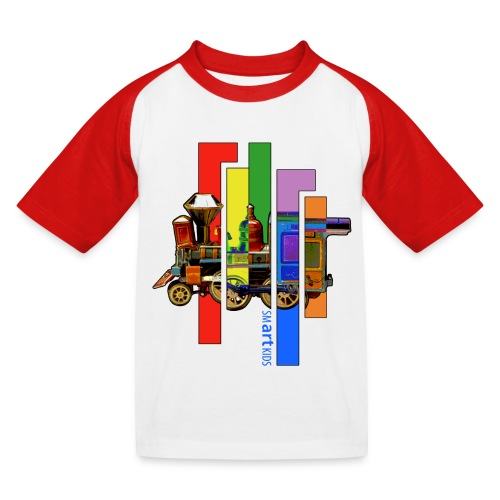 SMARTKIDS COCO LOCOMOFO - front print - 98/164 kids - multi color - Kids' Baseball T-Shirt
