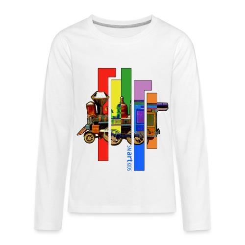 SMARTKIDS COCO LOCOMOFO - front print - 146/164 kids - multi colors - Teenagers' Premium Longsleeve Shirt