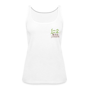 WTG- Damen Top - weiß - Frauen Premium Tank Top