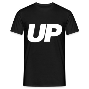 UP Logo Black Tee - Men's T-Shirt