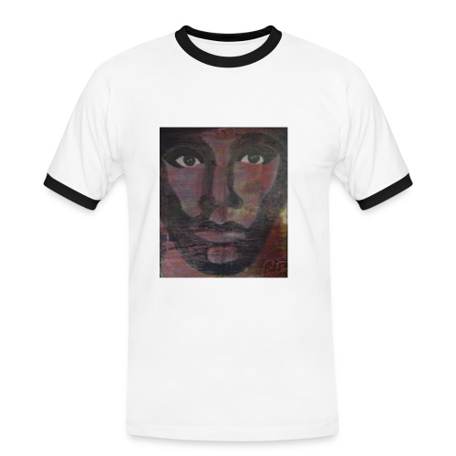 hello africa - Men's Ringer Shirt