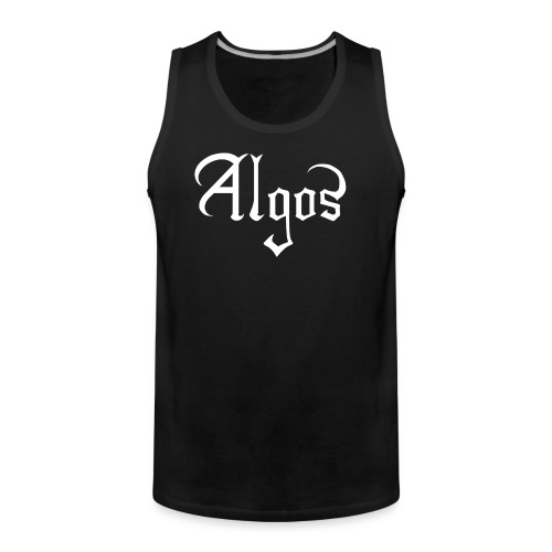 Logo tanktop (FRONT ONLY) - Men's Premium Tank Top