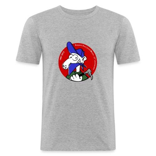 Momo couleur moulant - Tee shirt près du corps Homme