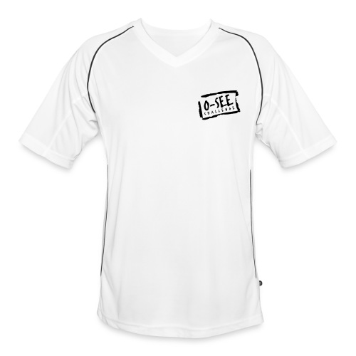 Männer Trikot weiß - Brustdruck O-SEE Challenge - Männer Fußball-Trikot
