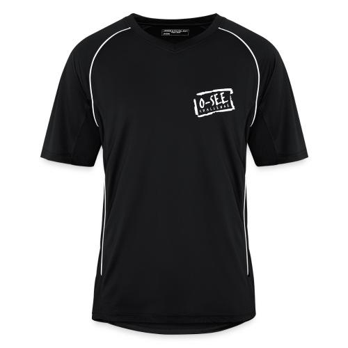 Männer Trikot schwarz - Brustdruck O-SEE Challenge - Männer Fußball-Trikot