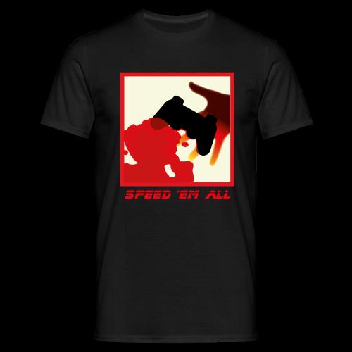Speed 'em all - devant - Homme - T-shirt Homme