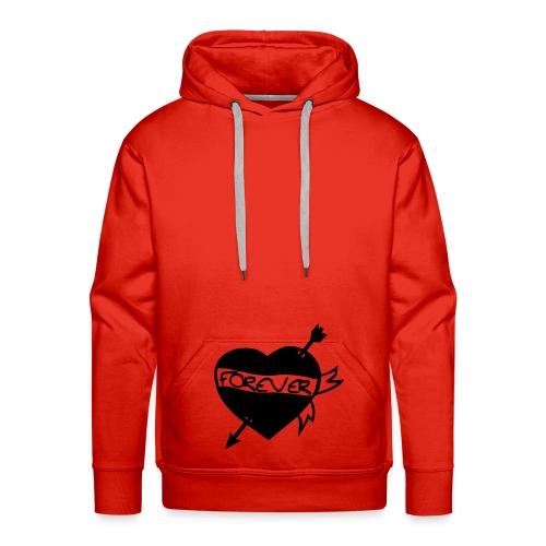 Pullover in rot - Männer Premium Hoodie