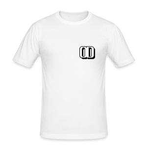 FITTED T-SHIRT 100% COTTON LOGO OD - Men's Slim Fit T-Shirt