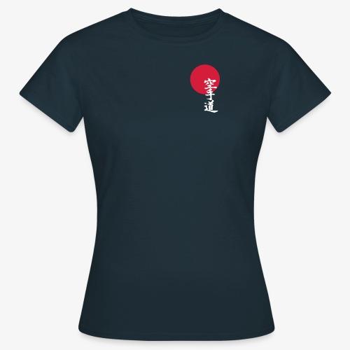 Frauen T-Shirt mit Kenseikan Logo - Frauen T-Shirt