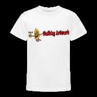 T-shirts ~ Teenager-T-shirt ~ Walking Artwork, børne t-shirt.