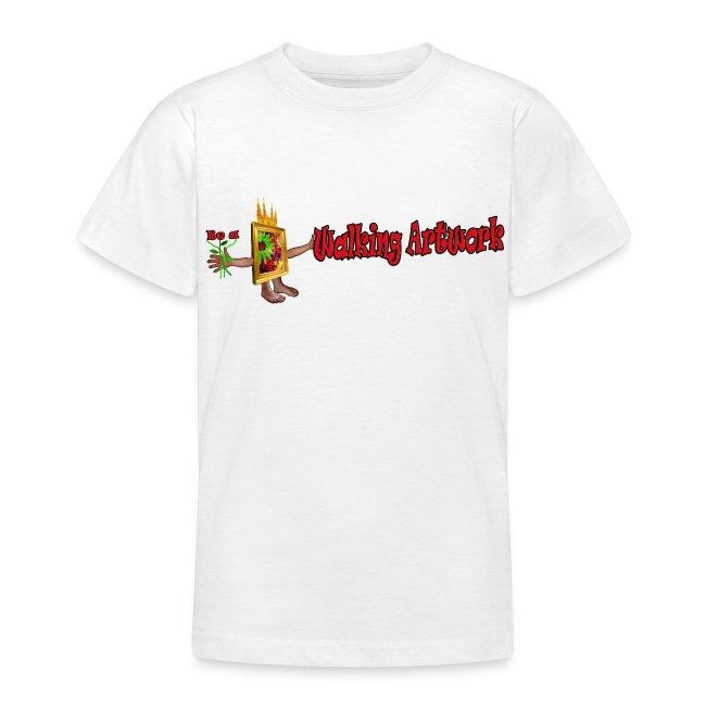 Walking Artwork, børne t-shirt.
