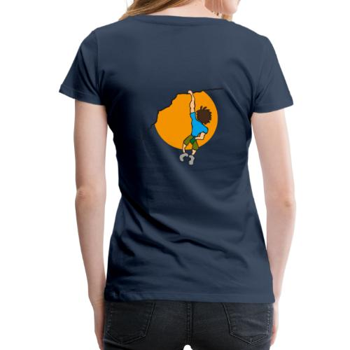 Freikletterer - Frauen Premium T-Shirt