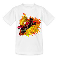 T-shirts ~ Teenager-T-shirt ~ Let out the wildcat, børne t-shirt