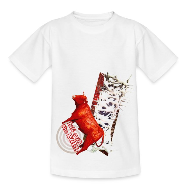 Let out the bull, børne t-shirt